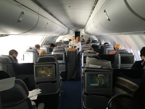 Lufthansa Business Class Flug - 11