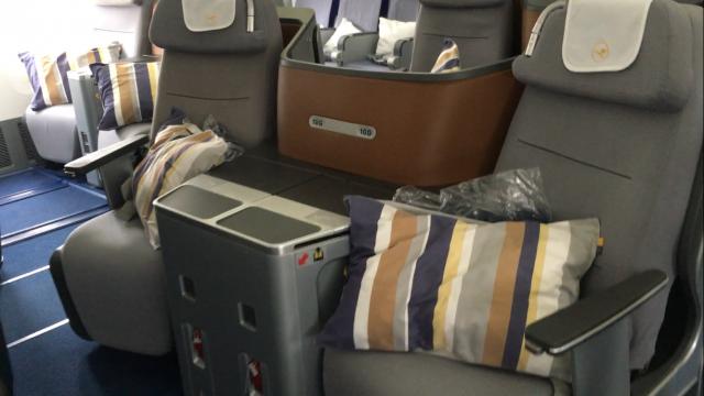 Lufthansa Business Class Flug - 2