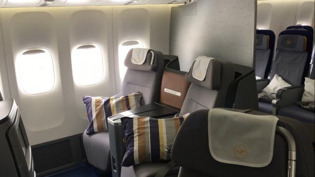 Lufthansa Business Class Flug - 3