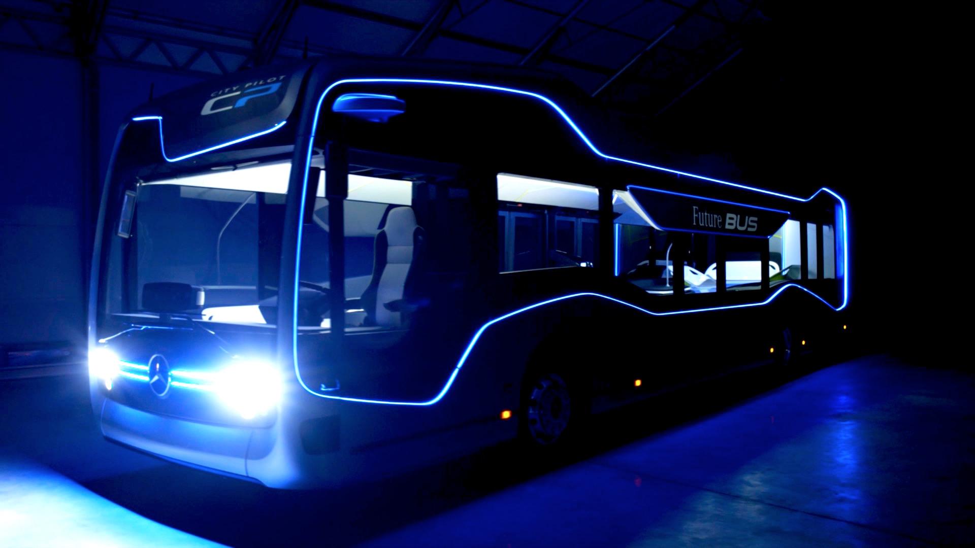 Mercedes benz future bus mit citypilot for Mercedes benz transit