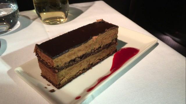 SIA Business Class Dessert