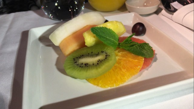 SIA Business Class Fruits