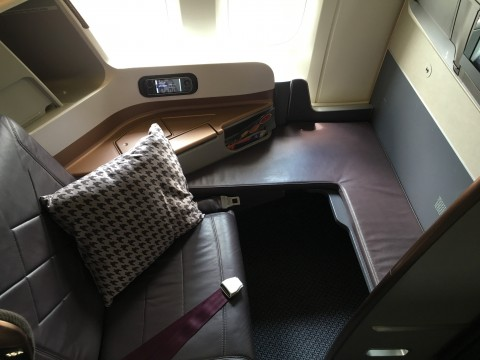 SIA Business Class Seat 3