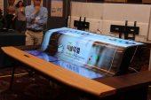 LG 77 Zoll flexible OLED - 2