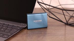 Samsung Portable SSD T5 Bilder - 1