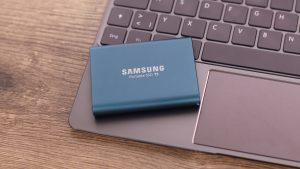 Samsung Portable SSD T5 Bilder - 2