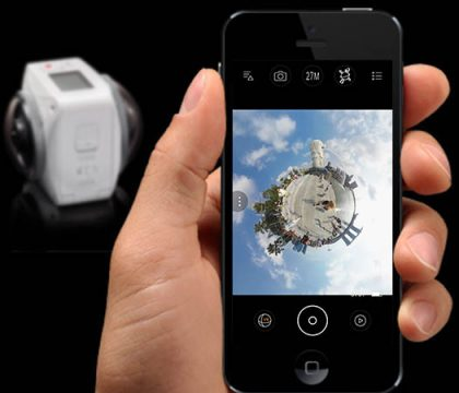 Kodak 4KVR360 - App