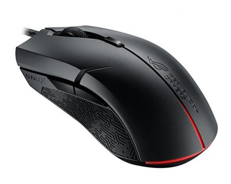 asus rog strix evolve gaming maus