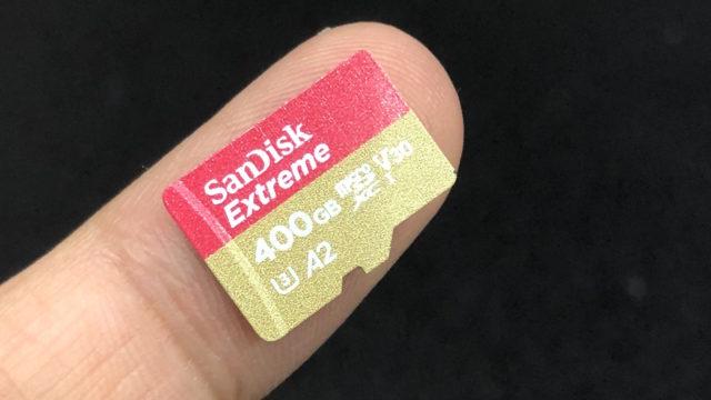 SanDisk 400GB microSDXC UHS-I A2 - 5