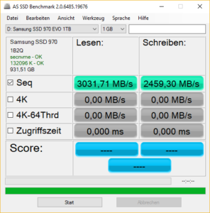 Samsung 970 AS SSD