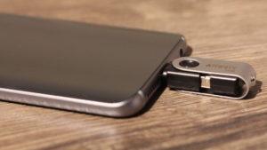 Smartphone mit USB-C Port