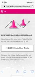 Telekom WM 2018 - 2