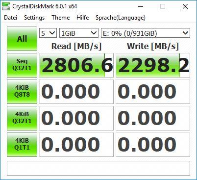Samsung SSD X5 - Crystal