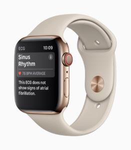 Apple Watch 4 Heartrate