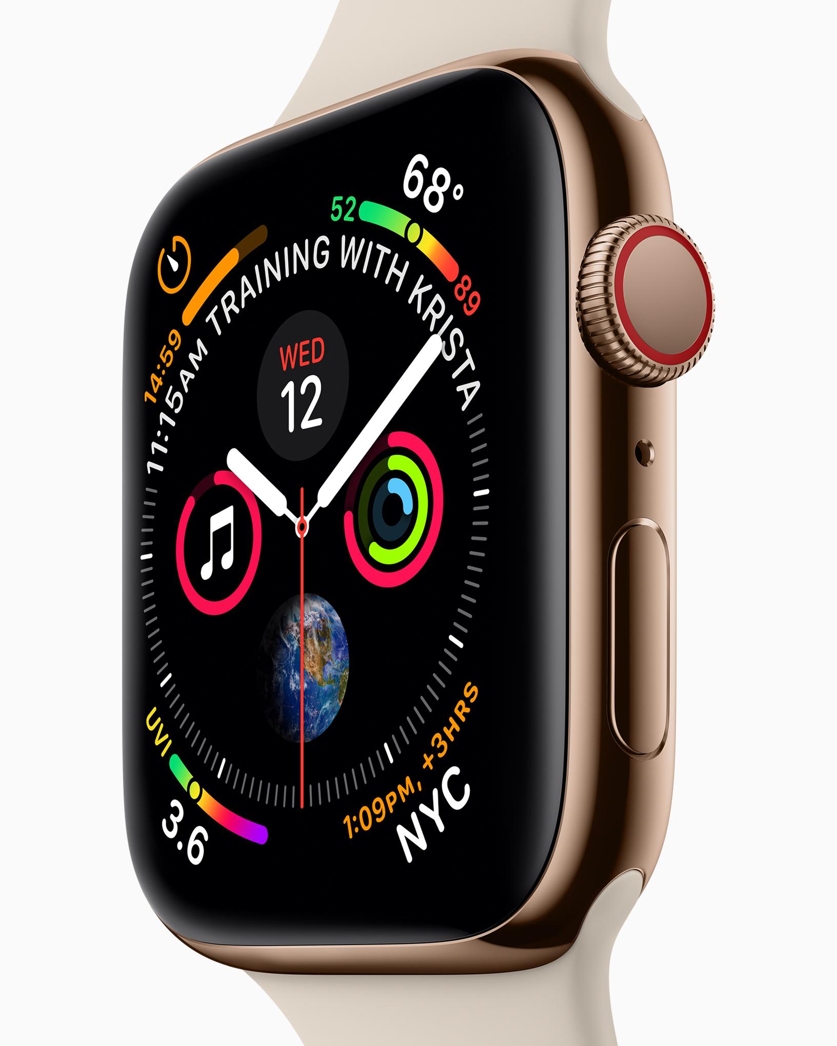 Apple Watch 4 Training