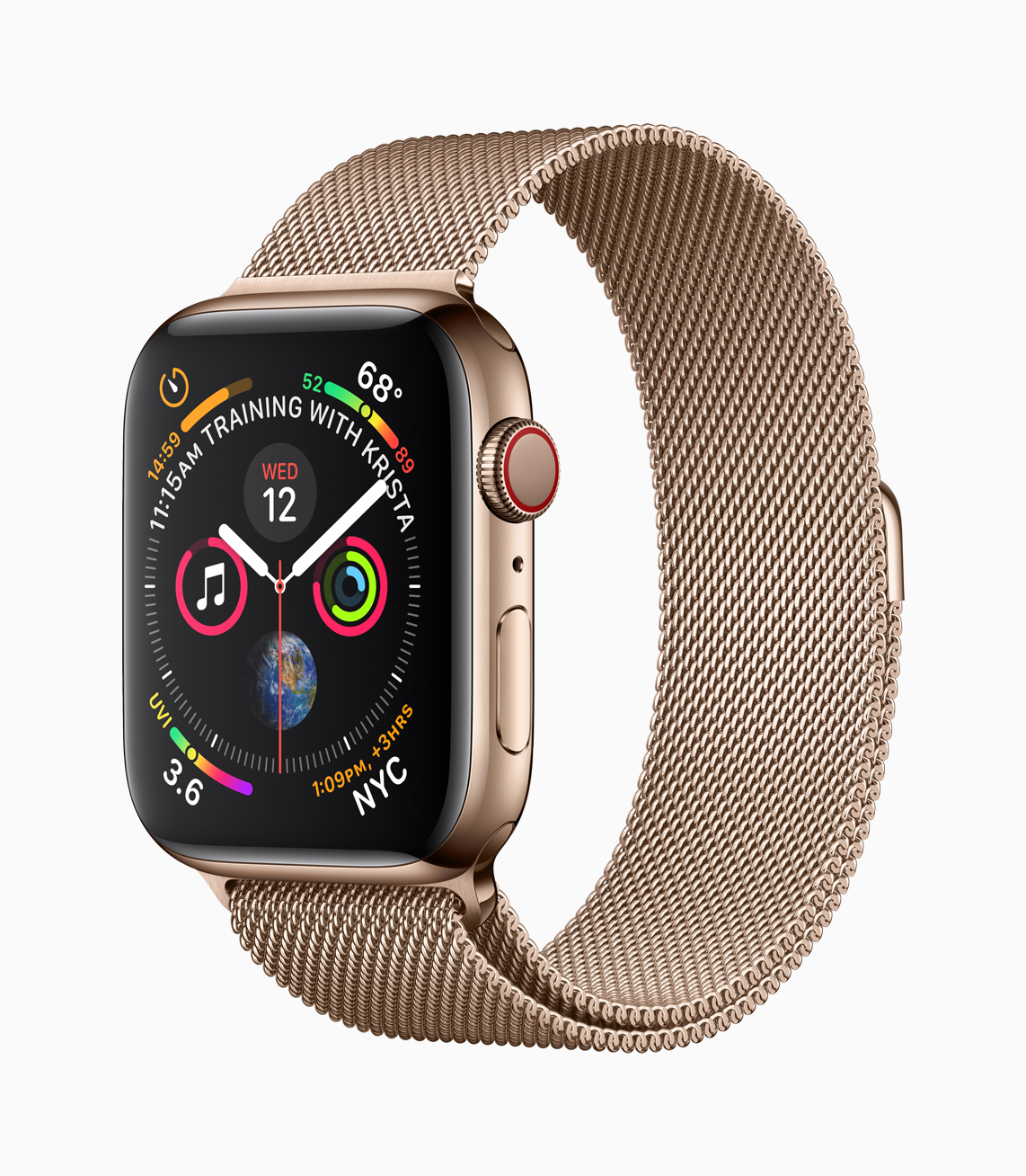 Apple Watch Gold Milanese