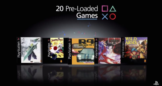 sony psx classic games
