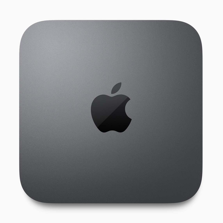 Mac mini oben