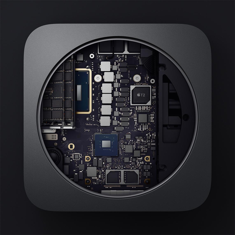 Mac mini offen
