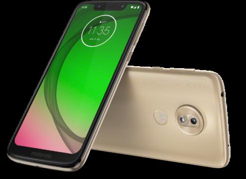 Moto G7 Play_ROW_Fine Gold_LAYDOWN COMBO