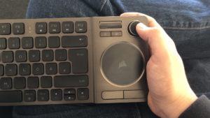 Corsair K83 Wireless - Lap Joystick