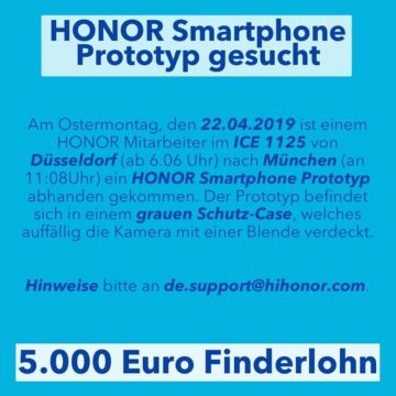 Honor Prototyp
