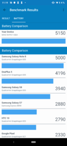 Wiko View3 Pro Geekbench 4 Battery 2