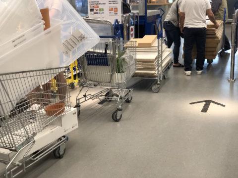 IKEA Frankfurt Snabble - 4