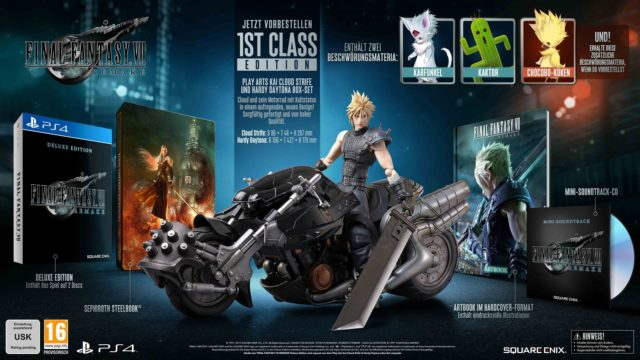 FF7 Remake 1st Class Edition