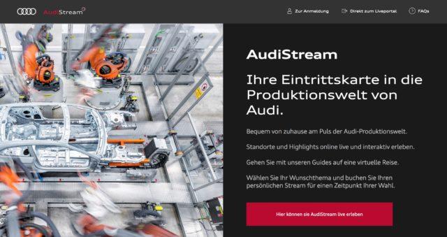 audistream website