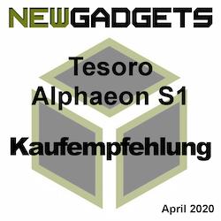 Tesoro Alphaeon S1 Award