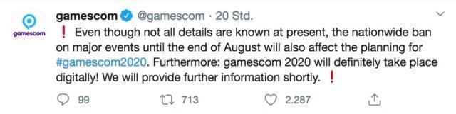 gamescom 2020 statement 1