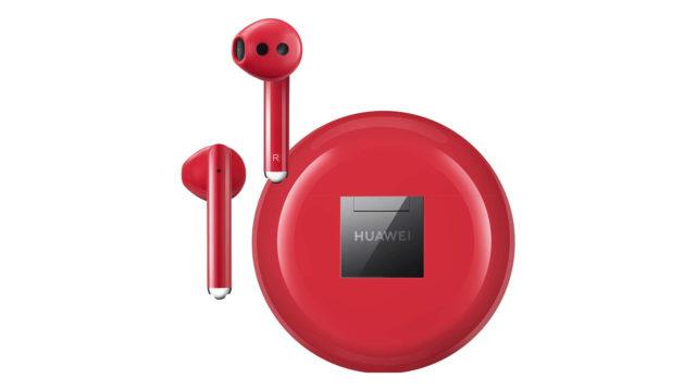Huawei Freebuds 3 Rot