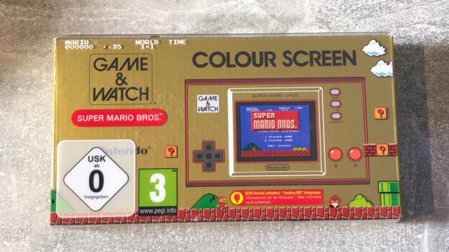 Nintendo Game and Watch Mario - 7