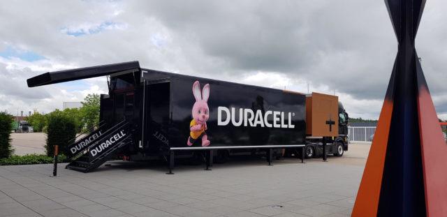 Duracell Truck